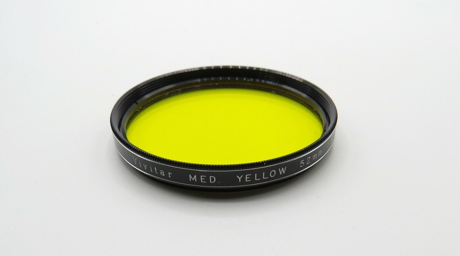 Primary image for Vintage VIVITAR 52mm - Med Yellow K-2 Filter - Screw Mount - Japan - Clean Cond.