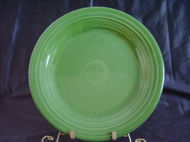 Vintage Fiestaware Forest Green Dinner Plate Fi... - $35.20