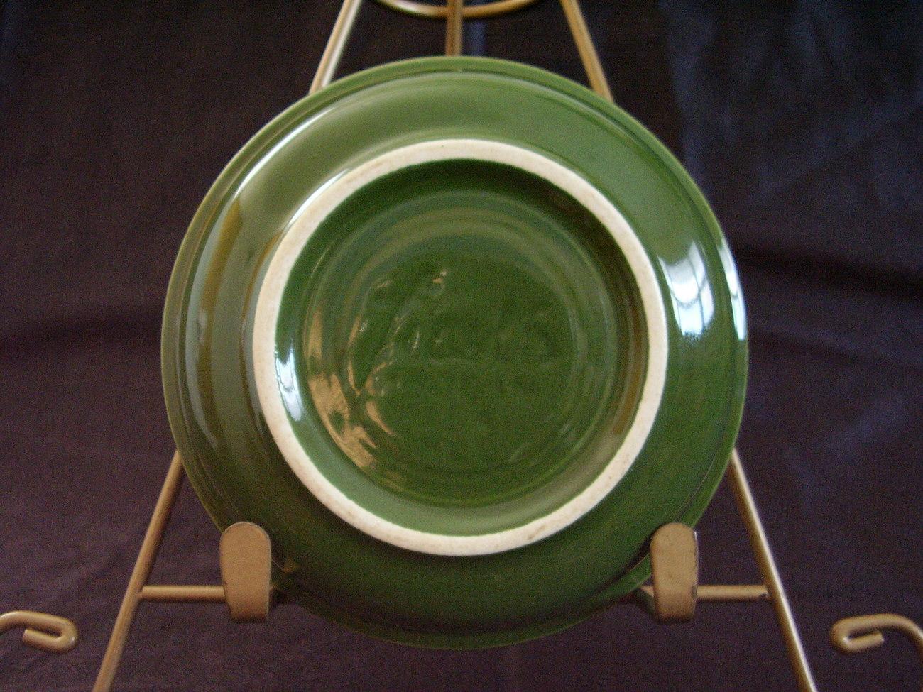 Vintage Fiestaware Forest Green Fruit Bowl Fiesta  C