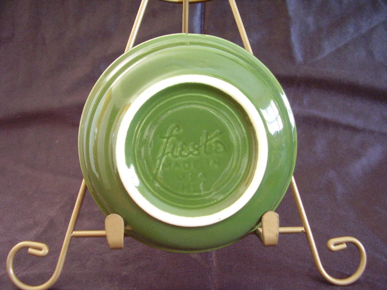 Vintage Fiestaware Forest Green Fruit Bowl Fiesta  B