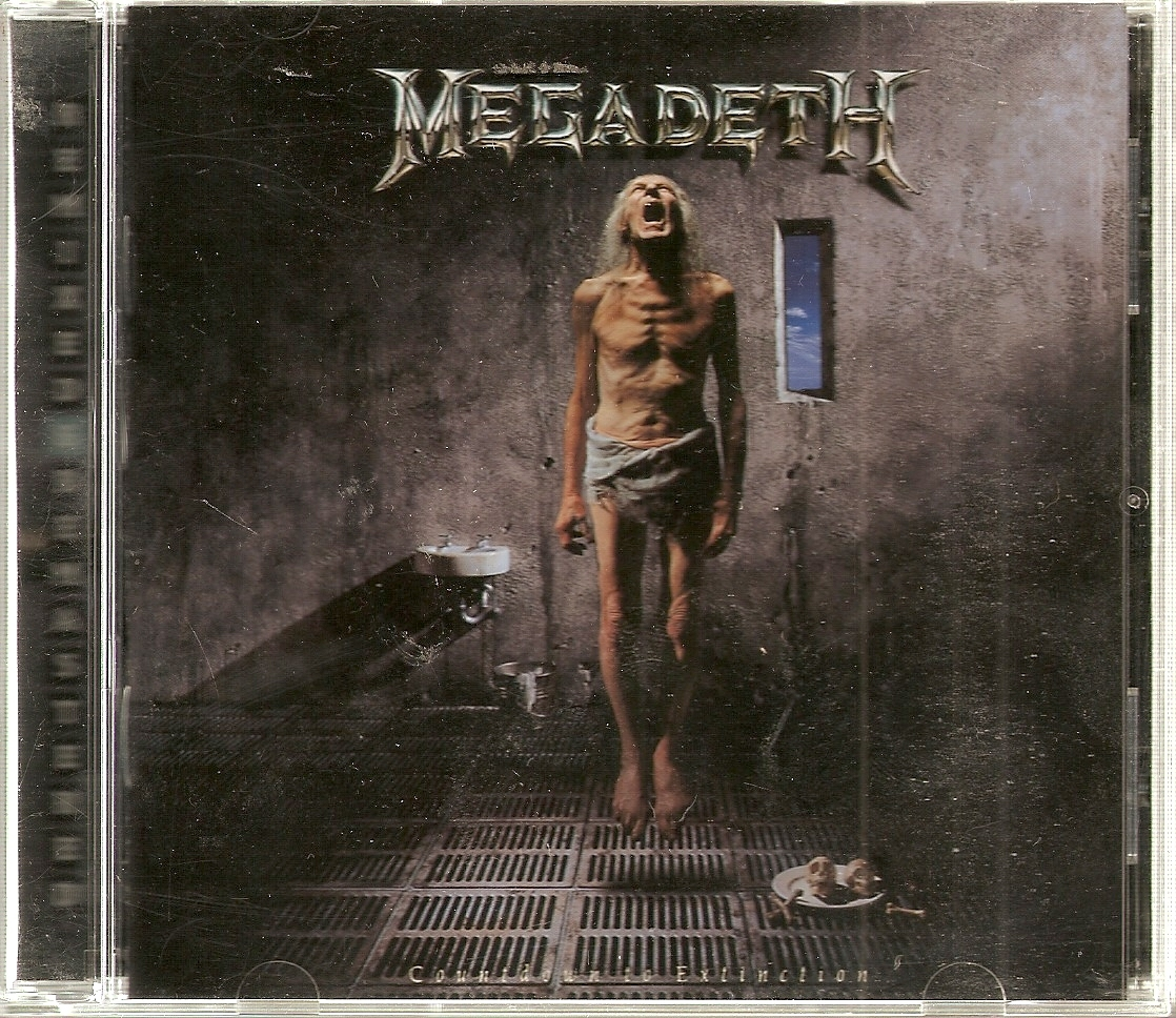 CD--MEGADETH COUNTDOWN TO EXTINCTION + 4 BONUS TRACKS - REMASTERED