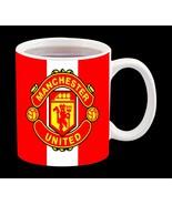 New Ceramic White Football Soccer Sport Team Manchester United Coffee Mu... - $15.83