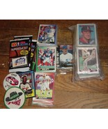 Junk Drawer Lot Baseball Racing Basketball Football Trading Cards Pins  - $9.99