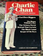 Charlie Chan by Earl Derr Biggers Five Complete Novels 1981 HBDJ - $6.00