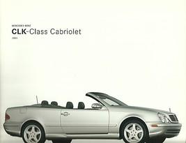2003 Mercedes-Benz CLK 320 430 CABRIOLET brochure catalog - $8.00