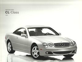 2003 Mercedes-Benz CL 500 600 brochure catalog US CL55 AMG - $12.00