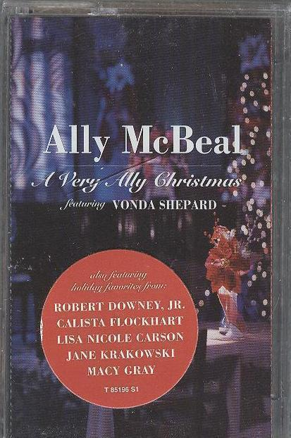 Ally McBeal Calista Flockhart Robert Downey Jr. Christmas Cassette Tape Sealed
