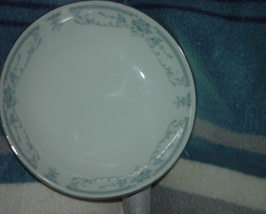 "Sheffield Blue Whisper Porcelain Fine China 1985 Dessert Bowl 5 1/2"" - $14.00"