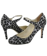 Type Z Womens SZ 8 Animal Print Shoes Strappy P... - $37.00