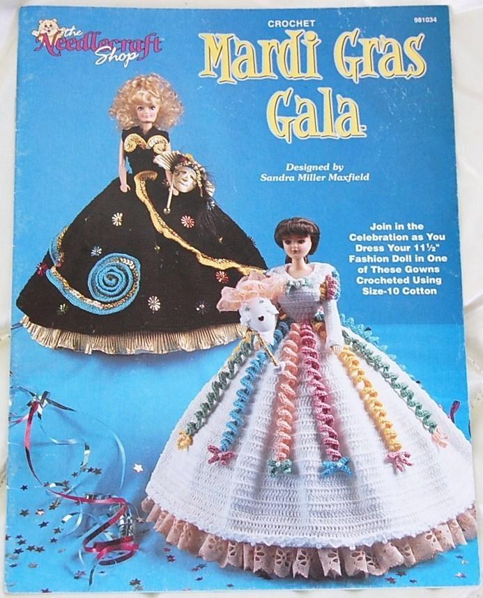Mardi Gras Gala Crochet Patterns