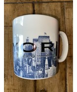 STARBUCKS Coffee Mug New York City Big Apple Skyline Series One Barista ... - $15.84