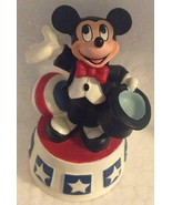 WDW DISNEY LENOX MICKEY MOUSE THIMBLE RING MASTER TOP HAT COLLECTIBLE PRE-OWNED - $9.99