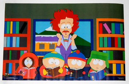 SOUTH PARK POSTER FROM 1998 RARE! 22.5 BY 34.5 INCHES   - $9.99
