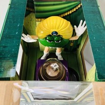 M&M Fun Fortunes Candy Dispenser Madame Green Limited Edition Collectable - $23.51