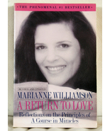 A Return to Love by Marianne Williamson - $3.00