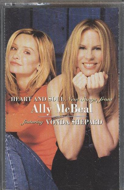 Songs From Ally McBeal Calista Flockhart Vonda Shepard Cassette Tape