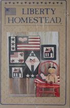 "Pattern ""Patriot's Sampler"" Wall Hanging Mini Quilt 22"" x 29"" - $5.00"