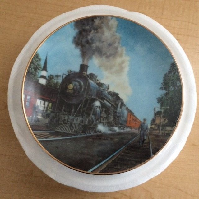 """Danbury Mint """"The Panama Limited"""" by Jim Deneen Limited Edition Plate"""