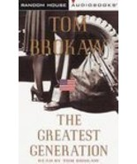 The Greatest Generation by Tom Brokaw (1998, Abridged,3 Audio Cassettes)... - $10.95