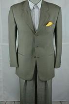 Giorgio Armani MANI Men's Gray & Tan Wool Sport Coat Blazer 38R 38 R - $98.99