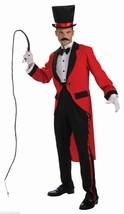 FORUM DELUXE RINGMASTER CIRCUS BIG TOP ADULT HALLOWEEN COSTUME STANDARD ... - £36.41 GBP