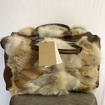 NWT Michael Kors Coyote Fur Handbag - $559.00