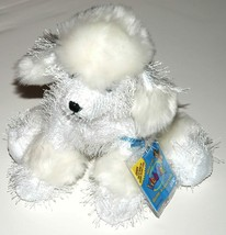 """HM014 - 8.5"""" WHITE POODLE Webkinz New Code Sealed With Tag - $11.64"""