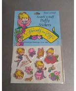 Vintage Herself The Elf Scratch N Sniff Puffy Stickers 1982 American Gre... - $19.99