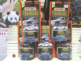 1998 Matchbox Premiere Police Collection Wyoming ND Missouri RI Nebraska Cars  - $89.05