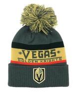 ADIDAS LAS VEGAS GOLDEN KNIGHTS NHL Men's Knit Cap Pom Beanie Winter Hat... - $21.77