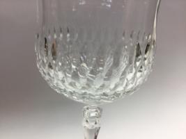 Cut glass goblet 24% lead crystal nice quality - $8.60