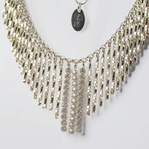 SILVER 925 NECKLACE RHODIUM WITH ZIRCON CUBIC BY MARY JANE IELPO MADE IN ITALY image 1