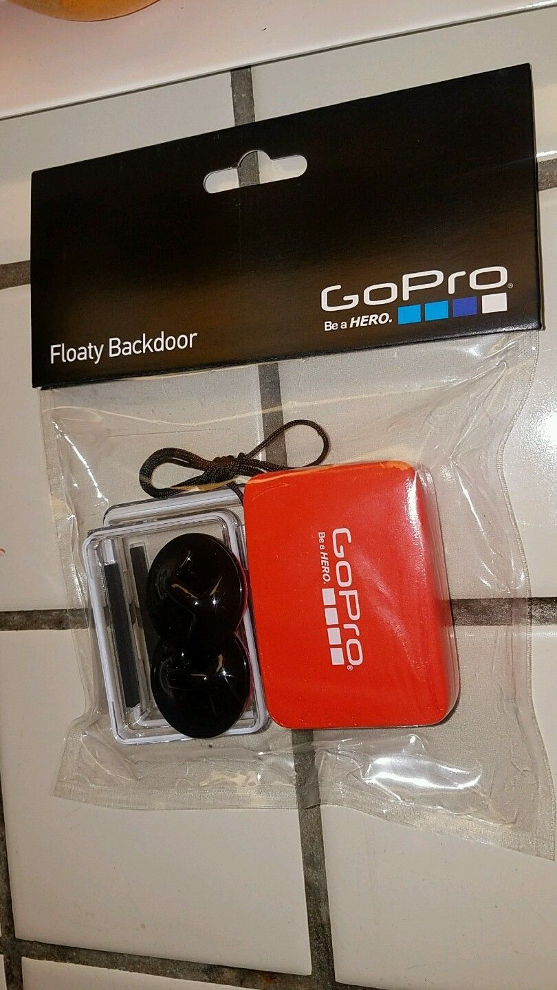 Used, GOPRO AFLTY-003  action camera Backdoor Door waterproof for sale  USA