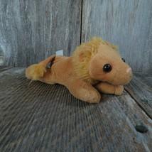 Lion Plush Noah's Ark Set Unipak Stuffed Animal Small Plastic Nose Cat K... - $18.80