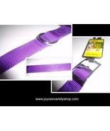 "Purple Extra Strong Nylon Dog Collar 18"" NWT PDQ Brand Medium Size - $9.99"