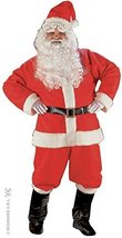 Santa Suit Super Deluxe Costume For Father Christmas Fancy Dress - $82.09