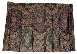 Ralph Lauren WESTPORT Paisley Medallion Rich Sateen Standard Pillow Sham... - $39.99