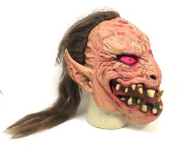 VTG Latex Halloween Monster Mask with Hair PMG Paper Magic Group 2001 - $26.99