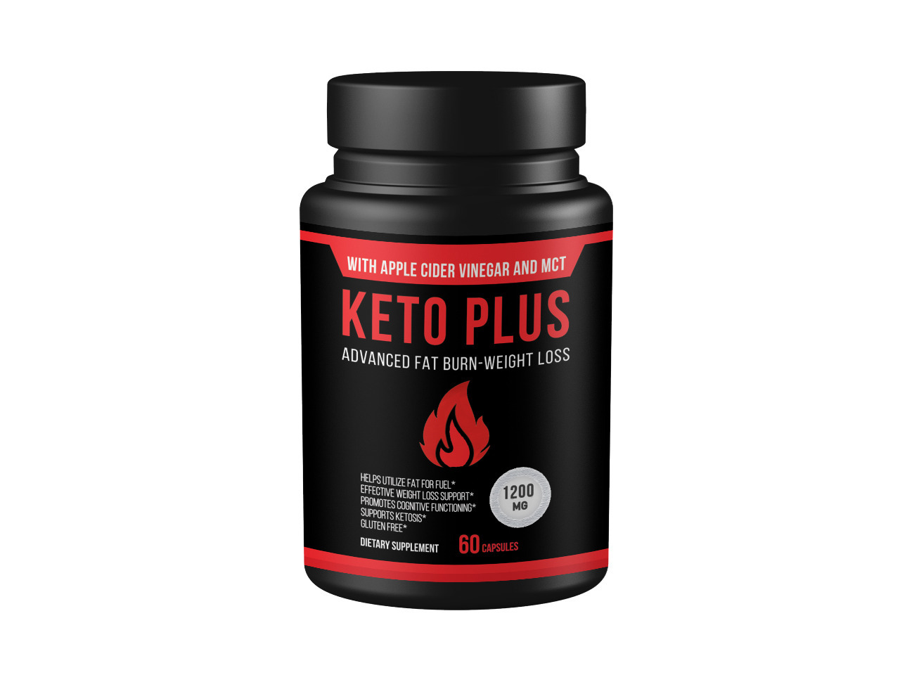 Primary image for QFL Keto Plus with Apple Cider Vinegar and MCT Oil
