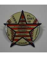 Florida Little League Baseball Boosters Dist - 10 2009 Lapel Pin Tac Col... - $3.99