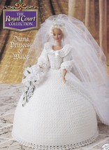 Diana Princess of Wales, Annies Royal Court Crochet Doll Clothes Pattern... - $4.95