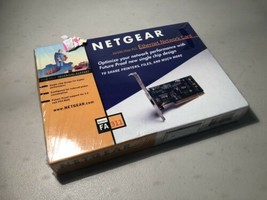 Sealed Netgear FA311 Ethernet Network Card 10/100 Mbps PCI FSTSHP - $14.85
