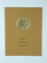 Ronald Reagan Original Official California Inauguration Ceremonies Progr... - $58.30