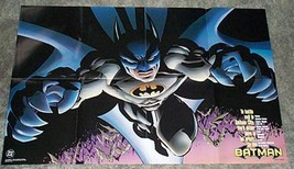 1997 DC Comics Batman 34 x22 Dark Knight detective promotional poster:19... - $29.69