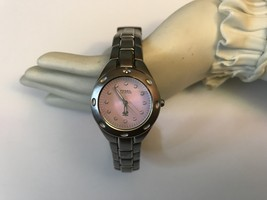 Fossil Blue Women Watch with Pink Faceplate - $85.00