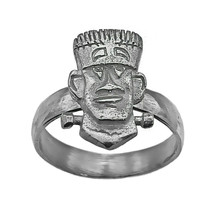 Frankenstein Sterling Silver 925 Ring Halloween Monster Jewelry New Pick... - $39.99