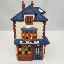"""Dickens' Village Walpole Tailors Christmas Porcelain Dept 56 1988 4""""x4.5... - $15.73"""