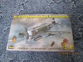 Revell P-47D Thunderbolt Razorback 1/48 scale  - $24.99
