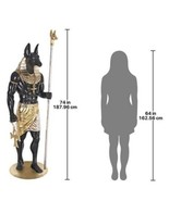 Life-Size Anubis the god of admission to the underworld statue (dt) - £5,939.28 GBP