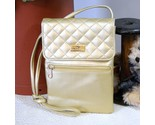 Retro handbag via piaggi small gold quilted thumb155 crop